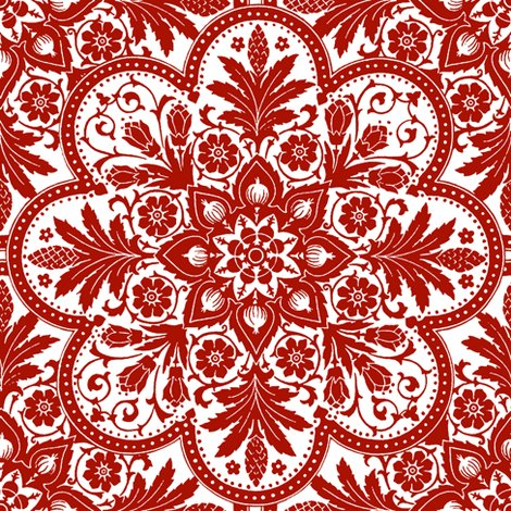 Rbourgogne_tile_____adrianople___turkey_red_and_white___peacoquette_designs___copyright_2014._shop_preview