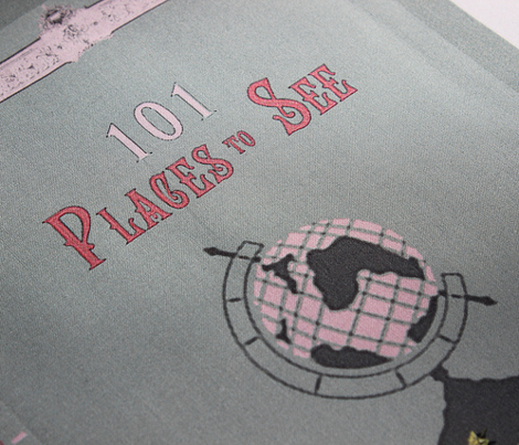 101 Places To See Book Cover 8.5x11