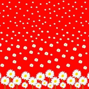 red_with_daisies