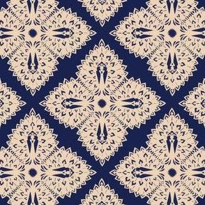 Peacock Snowflake
