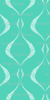 Lovely Lattice - Mint