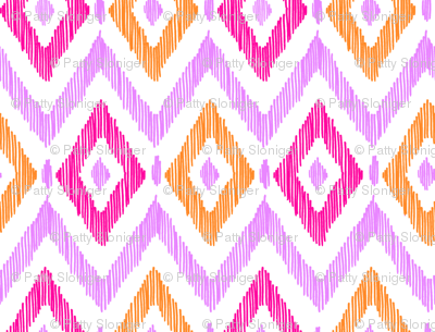 Diamond Ikat - Custom Color