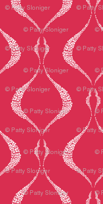 Lovely Lattice - Raspberry