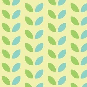 Retro Leaves