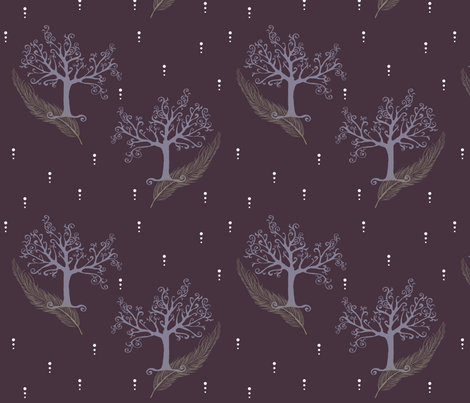 Ethereal Night fabric by adjd on Spoonflower - custom fabric