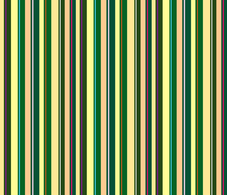 Citrus Stripes fabric by walkwithmagistudio on Spoonflower - custom fabric