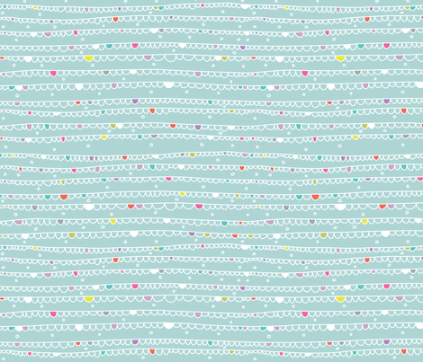 Doodley Doo- Let's Party fabric by cynthiafrenette on Spoonflower - custom fabric
