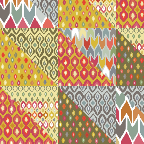 beach house throw fabric by scrummy on Spoonflower - custom fabric
