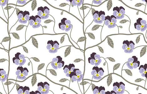 Cupids Flower fabric by shelleymade on Spoonflower - custom fabric