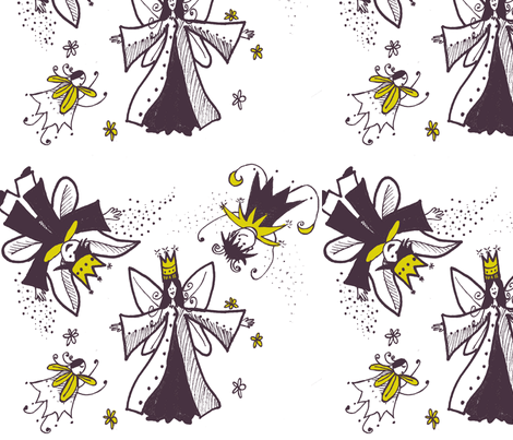 midsummerpatternm-ch-ch fabric by noggintoppers on Spoonflower - custom fabric