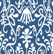 Gem Blue Ikat