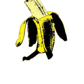 Warhol ate the banana.# 1