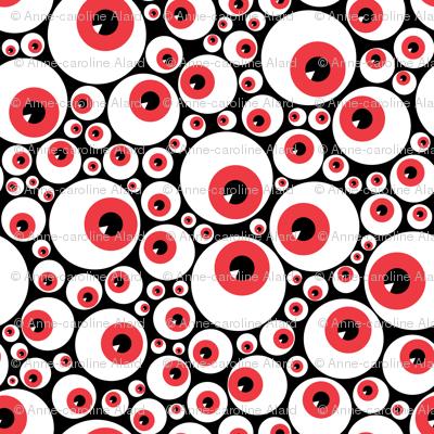 Eyeballs red