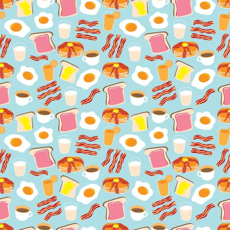 Breakfast Fun fabric by cynthia_arre on Spoonflower - custom fabric