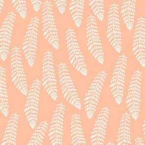 Fern in Peachy Sunset