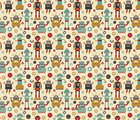 Robot-pattern-cream_shop_preview