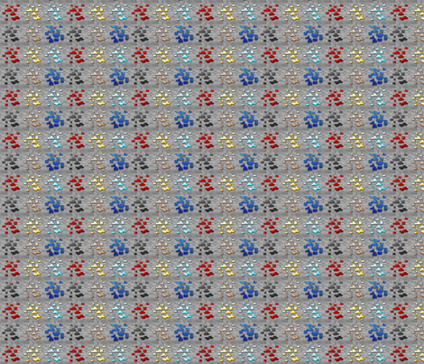 All the ores! fabric by phoenixrai on Spoonflower - custom fabric