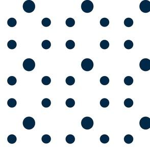 Dot Dot Dot Navy