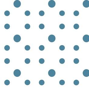 Dot Dot Dot  in Smoky Blue