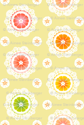 Citrus Lace (Yellow)