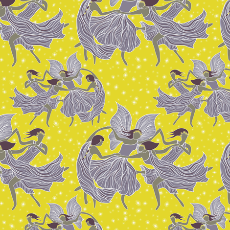 Fairy Ring fabric by vo_aka_virginiao on Spoonflower - custom fabric