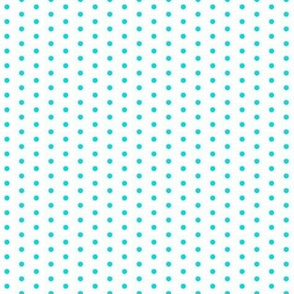 Lemon Blue-Aqua Polka Dot