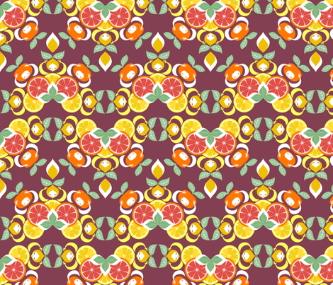 agrumi fabric by gaiamarfurt on Spoonflower - custom fabric