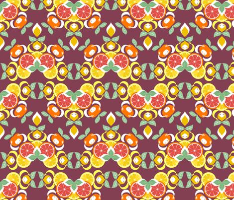 agrumi fabric by gaiamarfurt on Spoonflower - custom fabric