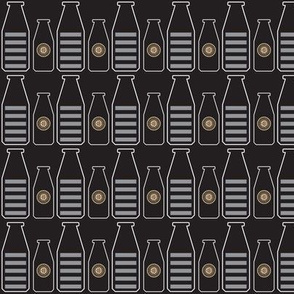 Flower Bottles- Grey