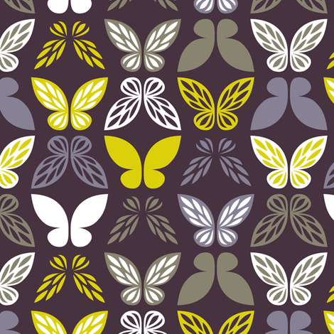 Fairy wings fabric by petitspixels on Spoonflower - custom fabric