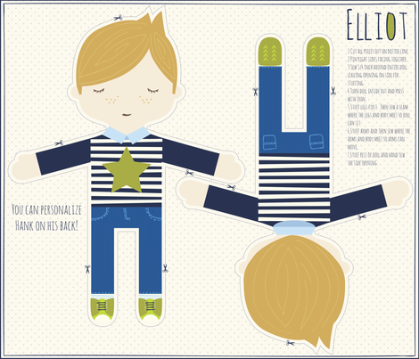 ELLIOT fabric by stacyiesthsu on Spoonflower - custom fabric