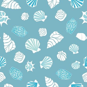 Pattern with various shells