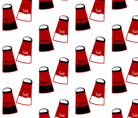 salt pepper fabric by paragonstudios on Spoonflower - custom fabric
