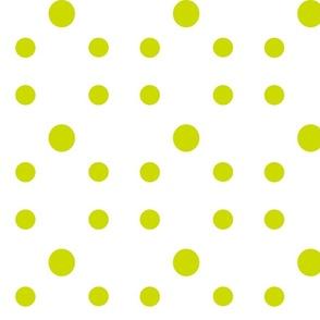 Dot Dot Dot  in Avacado