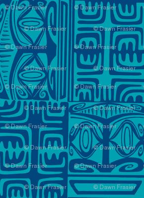 Kon Klassic in two tone blue