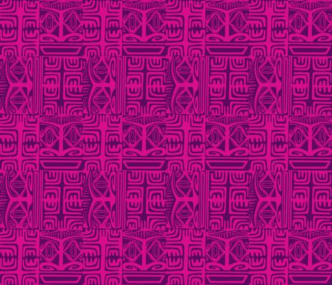 Kon Klassic  grape fizz fabric by sophista-tiki_by_dawn_frasier on Spoonflower - custom fabric