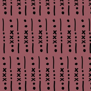 """Mud Cloth"" (Cocoa)"
