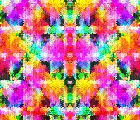 rainbow Snake fabric by glanoramay on Spoonflower - custom fabric