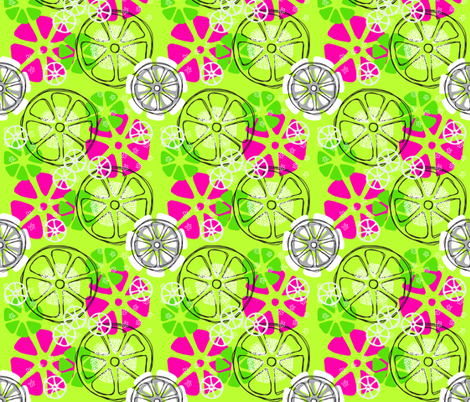 Citrus Toss fabric by terri_stegmiller on Spoonflower - custom fabric