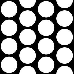 Big Style Dot on Black