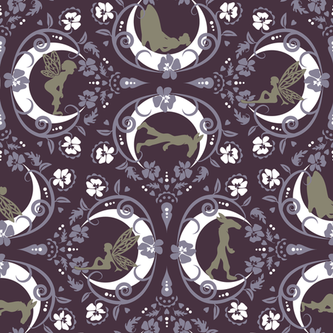 Midsummer dreamin' fabric by ebygomm on Spoonflower - custom fabric