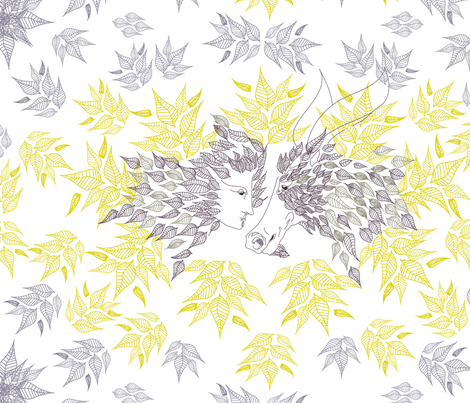 Midsummer Night's Dream fabric by famese on Spoonflower - custom fabric