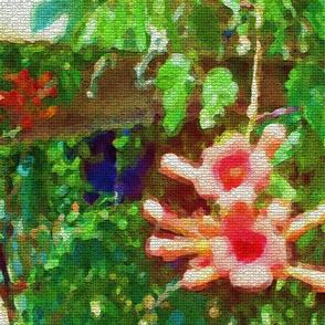Trumpet Vine Mosaic