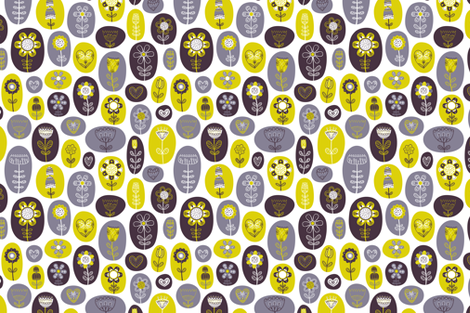 Magic Garden fabric by dinaramay on Spoonflower - custom fabric