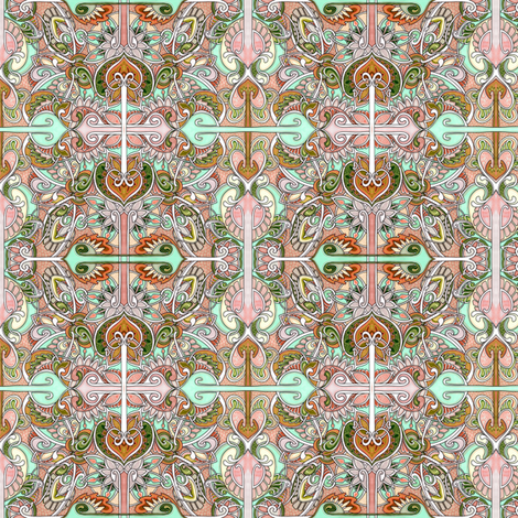 Circle Arrow Square and Spade fabric by edsel2084 on Spoonflower - custom fabric