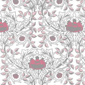William Morris Trellis ~ Pink Dawn