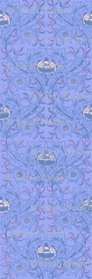 William Morris Trellis ~ Twilight