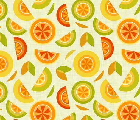 citrus fabric by cjldesigns on Spoonflower - custom fabric