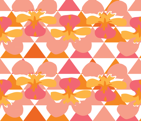 Love Triangle 6 fabric by owlandchickadee on Spoonflower - custom fabric