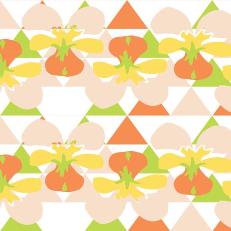 Love Triangle 9 fabric by owlandchickadee on Spoonflower - custom fabric